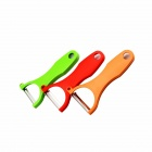 3-in-1 Fruit / Vegetable Peelers Paring Knives Cutters Set - Red + Green