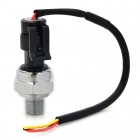 Carbon Steel Alloy Variable Pump Water / Air Pressure Sensor - Silver + Black (DC 5V)