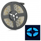 SENCART Waterproof 72W 3000lm 490nm 300-SMD 5050 LED Blue Light Strip - White (DC 12V / 5M)