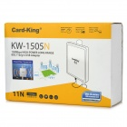 Kort-King KW-1505N 150Mbps High Power Long Range 802.11b / g / n USB Adapter - Hvit