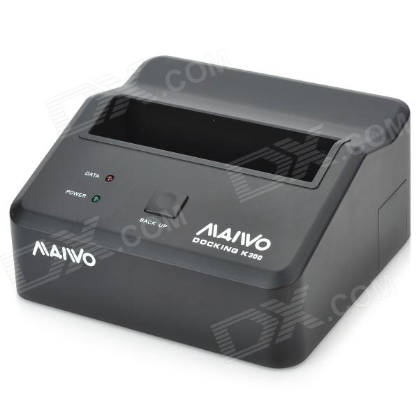 "Maiwo USB 3.0 HDD док-станция для всех 2,5 ""/3.5"" SATA HDD (Super-Speed ​​5 Гбит)"