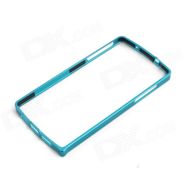 0.7mm Ultrathin Protective Aluminum Bumper Frame for LG Nexus 5 - Blue 0 7mm ultrathin aluminum protective aluminum bumper frame for lg nexus 5 black