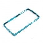 0.7mm Ultrathin Protective Aluminum Bumper Frame for LG Nexus 5 - Blue
