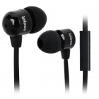 ipipoo ip-20i 3.5mm In-Ear-Ohrhörer w / Mikrofon - Schwarz