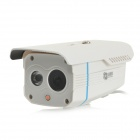 "Weilante SV-201E Waterproof 1/4"" CMOS 1000TVL CCTV Camera w/ 1-IR-LED / IR-CUT - White + Blue (PAL)"