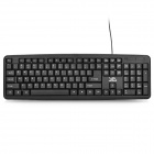 FC-530 Wired 104-Key Gaming Keyboard - Black