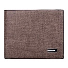 YATEER YA126-3 Fashion Men's PU Leather Short Wallet - Coffee