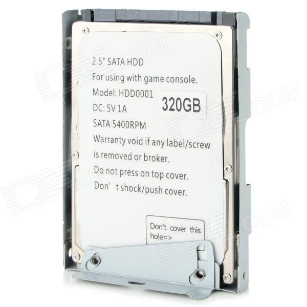 "Ультратонкий 320GB 5400RPM 2.5 ""SATA HDD для PS3 CEXH-400X - серый"