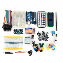 Robotale Basic Learning Kit Set for Arduino UNO R3 - Blue+Multicolored