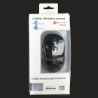 2.4GHz Wireless Optical Mouse with USB Receiver - Black (1*AA)