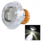 U-3 Universal Ultra-Bright 30W 180LM Angel Eye + Lens RGB Light LED Motorcycle Headlamp (DC 12~80V)
