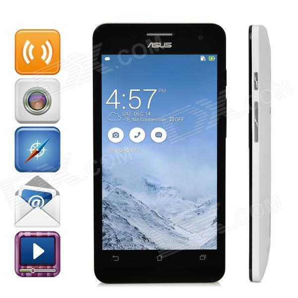 Asus ZenFone5 Android 4.3 Dual-Core WCDMA Smartphone w/ 5.0 Screen, Wi-Fi, GPS - White (2GB / 16GB)