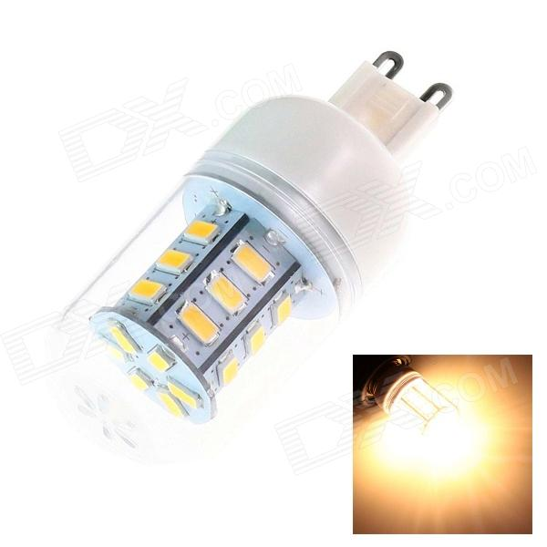 G9 4W 220lm 24 x SMD 5730 LED Warm White Light Lamp (220~240V)