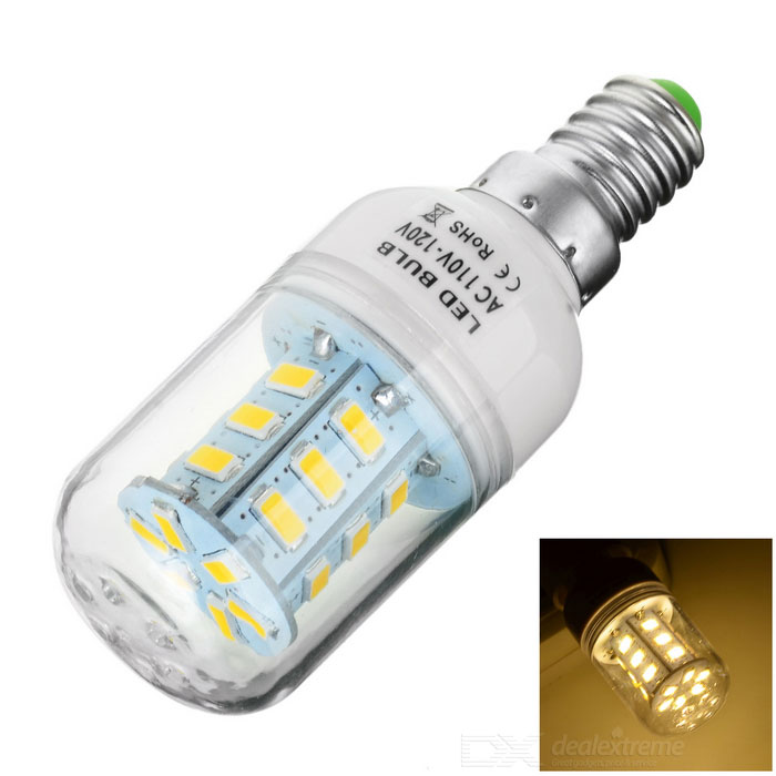 E14 5W 280lm 3000K 24*SMD 5730 LED Warm White Light Lamp (110~120V)
