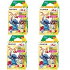 Fujifilm Instax Mini Instant Stitch Films Set (4 x 10 PCS) - Special Offer