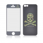 Angibabe Skull Head Pattern Glow-in-the-Dark Full Body Screen Protector Sticker for IPHONE 5 / 5S