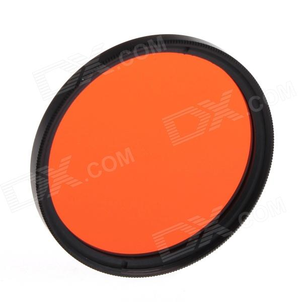 Universal 49mm Orange Color UV Filter for Canon Nikon Sony + More - Orange