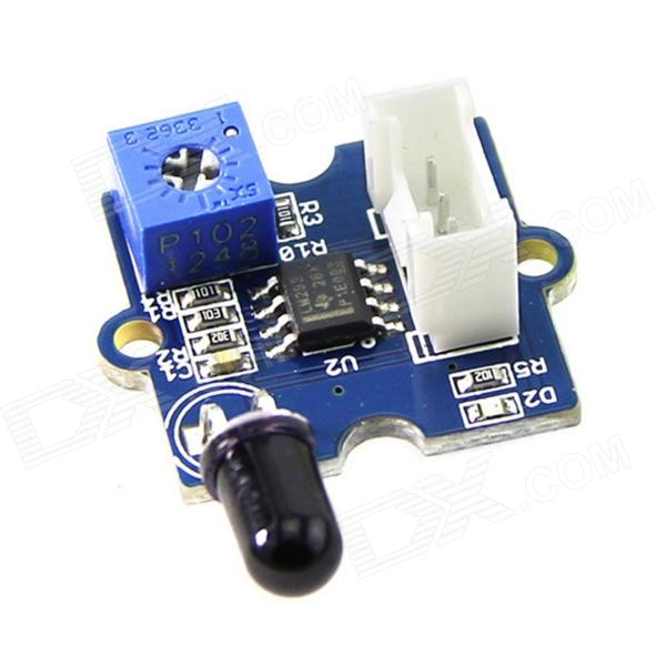 Seeedstudio SEN05082P Grove Flame Source Sensor Module - Blue + White + Black