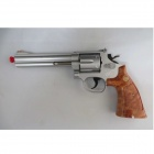 Genuine CROWN MODEL S&W M686 .357Magnum 6inch(Gas Gun) Stainless TYPE(Silver)
