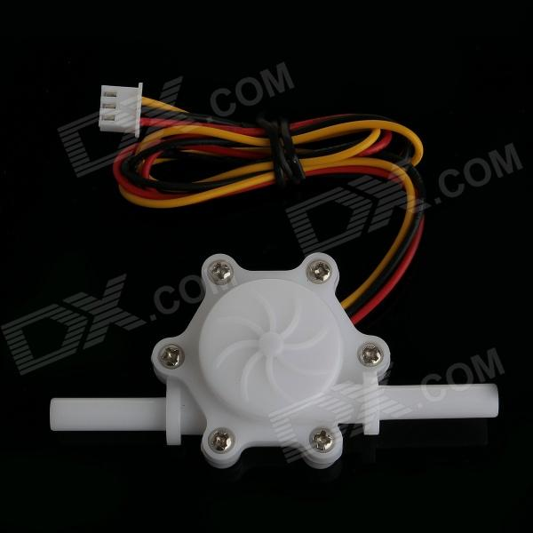 Фото SAIER-HZ06K Environmental POM 6mm Hall Flow Sensor - White barrow g1 4 white black silver multi stage flow commutated buffer water cooling fittings tdshh v2