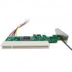 WBTUO LPE1083 PCI-Express to PCI Adapter Card - Green