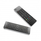 RC3 3-in-1 2.4GHz Wireless Keyboard with Air Mouse + IR Remote Set w/ Microphone / Speaker - Black