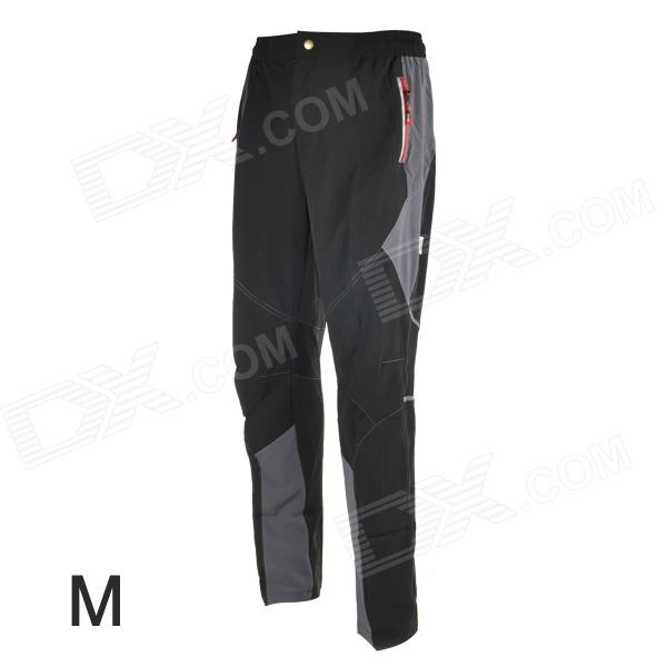 TOP CYCLING SAK605 Causal Breathable Quick-Dry Cycling Long Pants Trousers - Black (M)