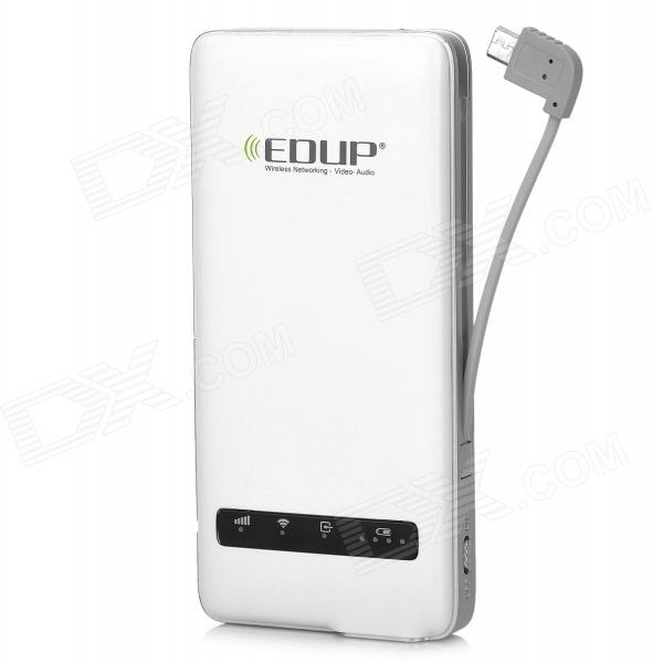 EDUP EP-9512N Multifunction Portable 150Mbps 3G Wi-Fi Router Intelligent Mobile Power