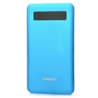 KINGMAX KEBG-M01 Universal 5V 4000mAh Li-polymer Battery Power Bank w/ Indicator - Blue + Silver