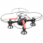 RunQia 2.4GHz 4-CH 6-Axis Outdoor R/C Quadcopter w/ Gyroscope - Black (6 x AA)