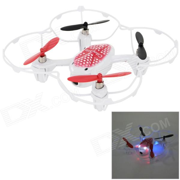LiHuang LH-X2 2.4GHz 4-CH Outdoor Radio Control R/C Quadcopter w/ Gyroscope / Camera - White + Red