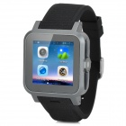 "Z15 Dual-core WCDMA Smart Wrist Watch Phone w/ 1.54"" Screen, Bluetooth, 4GB ROM, Wi-Fi, GPS -  Black"