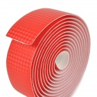 NUCKILY R007 Bike Bicycle PU Handlebar Tape Belt Wrap - Red