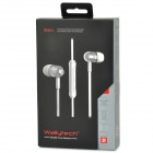 Wallytech W801 Super Bass In-Ear auriculares w / Mic / remoto para IPHONE / IPAD + más - azul + Negro
