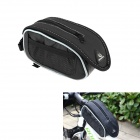 Roswheel Crocodile Pattern Cycling Bike Bicycle Top Tube Bag - Black + White