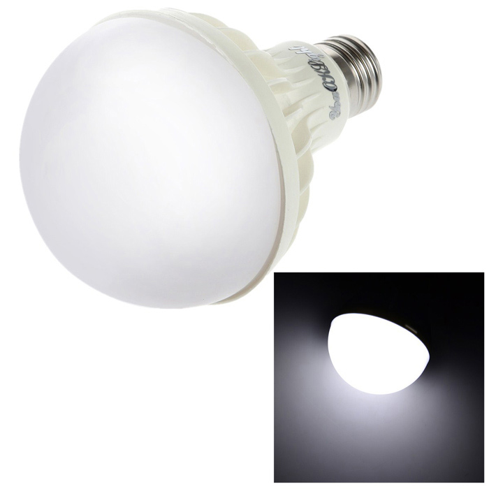 YouOKLight ADS-C7W E27 7W 360lm 6400K 12-SMD 5630 LED White Light Bulb - White (AC 220V)