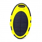 ODEM 5000mAh Dustproof Shockproof Waterproof Li-polymer Battery Solar Charger External Bank - Yellow