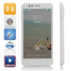"Jiake-730 MTK6592 Octa-Core-Android 4.4.2 WCDMA Bar Phone w / 5,0 ""IPS-HD, 8 GB ROM, GPS - Weiß"