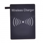 QI Wireless Charger Pad Transmitter with Receiver Set for Samsung Galaxy S5 - Black