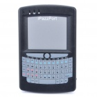 "2.8"" Mini Bluetooth Handheld QWERTY Keyboard and Mouse Touchpad (Black)"