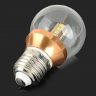 YouOKLight E27 350lm 3000K 20-2835 SMD LED Warm White Light Lamp Bulb - Golden(85~265V)