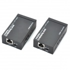 CHEERLINK HDMI 1.4 to CAT-6 Infrared Single Network Cable Extender Set w/ Dual IR Control - Black