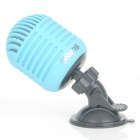SLANG 3W Bluetooth V3.0 Stereo Speaker w/ Mic / Micro USB - Blue + Black