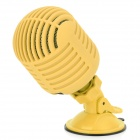 SLANG 3W Bluetooth V3.0 Stereo Speaker w/ Mic / Micro USB - Yellow + Black