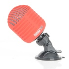 SLANG 3W Bluetooth V3.0 Stereo Speaker w/ Mic / Micro USB - Red + Black