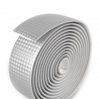 NUCKILY R007 Bike Bicycle PU Handlebar Tape Belt Wrap - Silver