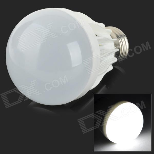 YouOKLight B60-10P E27 5W 400lm 6500K 10-SMD 5730 LED White Light Lamp Bulb - White (85~265V)