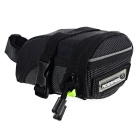 ROSWHEEL Cool 1680D Dacron Bicycle Cycling Saddle Bag - Black (M)