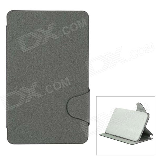 Protective PU Case w/ Stand for Lenovo S5000 - Grey