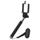 Universal Cell Phone Selfie Handheld Monopod w/ Bluetooth Remote Controller, NFC Function - Black